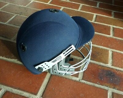 Albion C2 Cricket Helmet with face protector. L 58-59cm