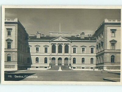 old rppc UNIVERSITY BUILDING Geneva - Geneve Switzerland HM2319