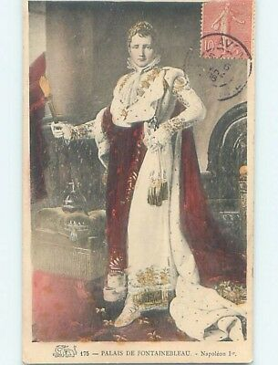 1906 foreign NAPOLEON IN ROYAL ROLE - KING OF FRANCE HL9881