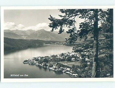 old rppc SCENE Millstatt Am See - Spittal An Der Drau District Austria HM1777