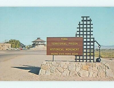 Unused Pre-1980 TERRITORIAL PRISON Yuma Arizona AZ hn1675