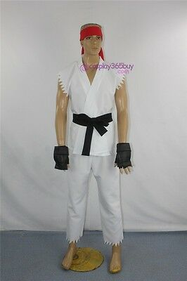 (cosplay365buy)Street Fighter Ryu Adult Cosplay Costume