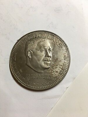 Bahamas 1984 1st Anniversary of Independence 10 Dollars Coin