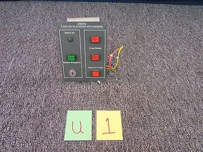 Scanmax 20 X-Ray Package Scanner Control Switch Knob Button Board Used