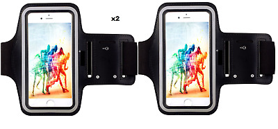 "iPhone 7 6 6S (4.7"") Running Jogging Armband Case Holder Sports Gym Workout Case"