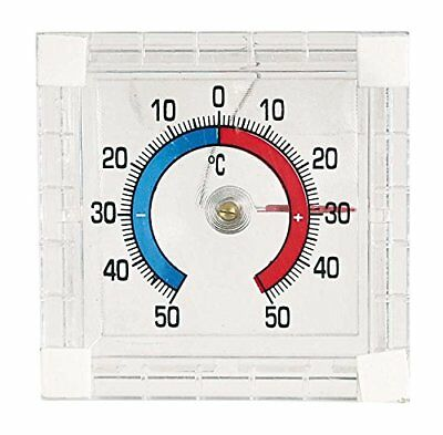Verdemax 4440 75 x 75 mm Glass Thermometer