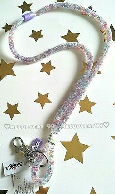 Latest! Smiggle Scented Lanyard With Lobster Clasp, Dreamy Crystals