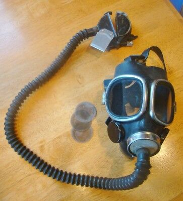 Vintage Mine and Safety Gas Mask Patented 1921 -  steampunk