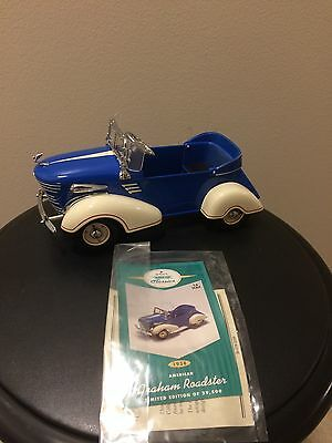 Hallmark Kiddie Care Classics 1938 Graham Roadster (GREAT CONDITION)