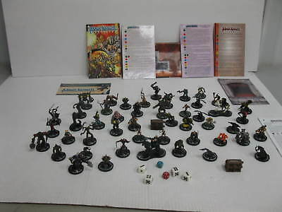 mage knight lot 50 miniatures! Fantasy RPG, dungeons and dragons, pathfinder