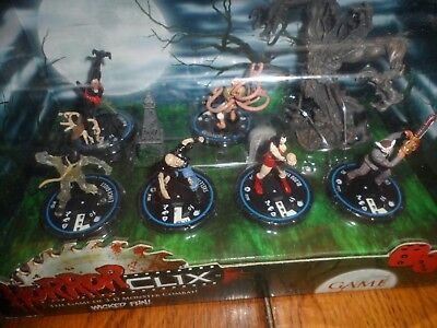 NEW Horrorclix Starter Set Horror Clix Game Sealed
