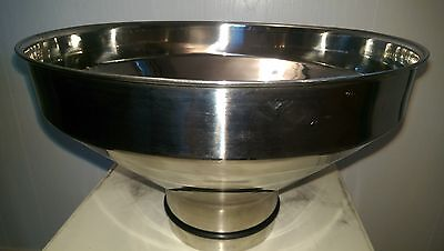 Stainless Steel Milk Strainer with S/S screen - NO RESERVE