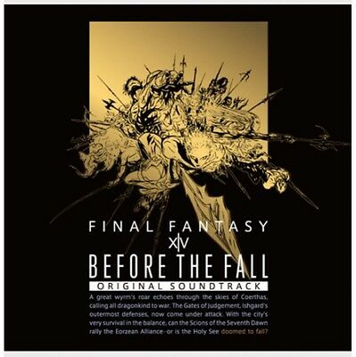 (Pre-owned) Final Fantasy XIV Before The Fall Soundtrack (Blu-Ray Disc)