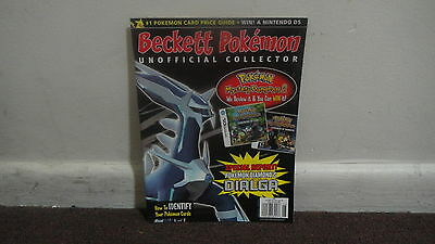 BECKETT POKEMON UNOFFICIAL COLLECTOR MAGAZINE JUNE 2008 Vol. 11 #6 Issue 103
