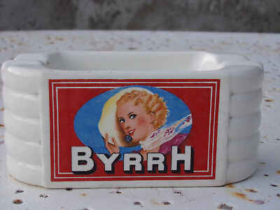 Rare Cendrier Vintage Byrrh Sarreguemines des Années 80 Ashtray the Eighties