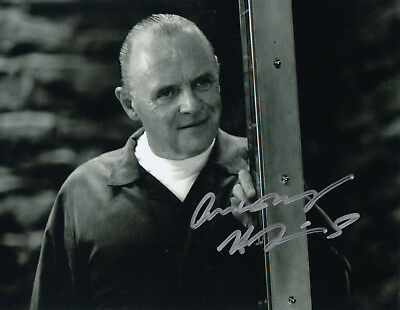 ANTHONY HOPKINS - orig. sign. Großfoto