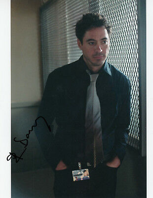 ROBERT DOWNEY jr. - orig. sign. Großfoto
