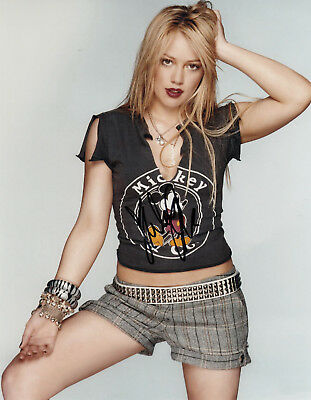 HILARY DUFF - orig. sign. Großfoto
