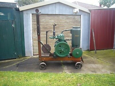 Wolseley Stationary Engine R Type With Wolseley Sheep Shearing Equipment.