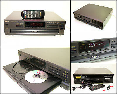 TECHNICS SL-PD867 5 Disc CD Player with Remote