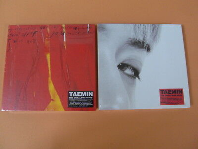 TAEMIN  - Move (Wild Ver.+ Mood Ver.) CD SET + TWO Unfold POSTER + STORE GIFT