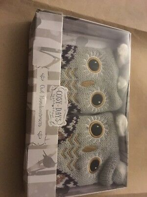 Set Two Owl Hand Warmers