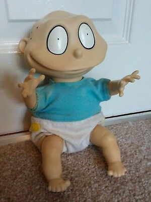 **Rare** 1997 NICKELODEON RUGRATS TOMMY PICKLES DOLL STUFFED PLUSH SOFT TOY 10""
