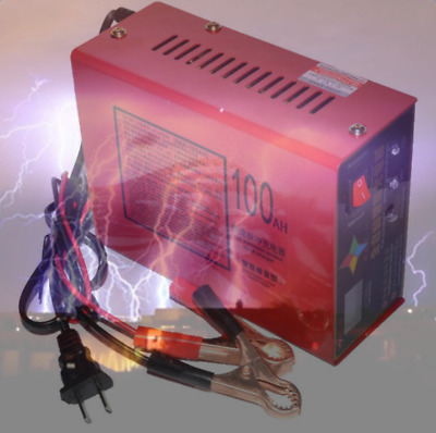 New Portable 110V Full Automatic Electric Car Battery Charger 12V/24V