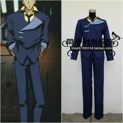 free shipping Cowboy Bebop Spike Spiegel Cosplay Costume