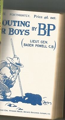 Scouting For Boys Baden Powell Book 1957 Facsimile Edition Of Original Scouts