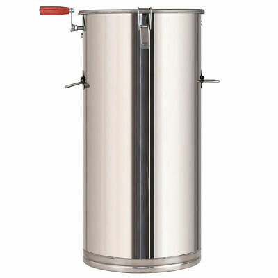 Stainless Steel 2 Frame Honey Extractor Manual Beekeeping Equipment Honeycomb