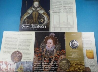 2008 Royal Mint Elizabeth 1St 450Th Anniversary £5 Coin Collection