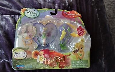 Disney Tinkerbell & the lost treasure friendship locket bnib