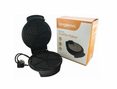 Waffle Maker Non Stick Makes Up To 5 Waffles In Minutes 1200W Kingavon
