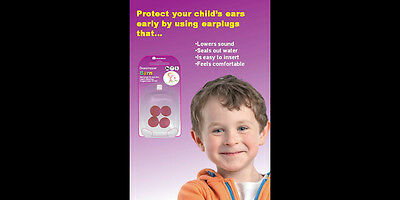 Swedsave Earplugs For Children Soft Plugs For Small Ears