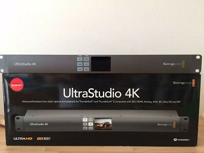 Blackmagic UltraStudio 4K mit Thunderbolt 2
