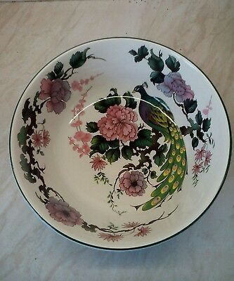 "Myott Meakin Exotic Garden 8"" Bowl Franciscan Dynasty Collection"