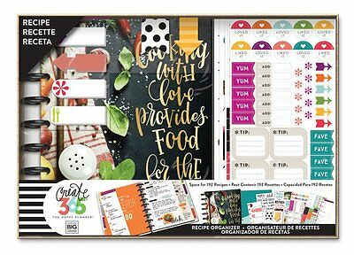 Me & My Big Ideas Create 365 CLASSIC Happy Planner Box Kit - Cooking BOX122