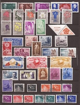 Romania - Lot Of 20 Complet Sets - 3 Images