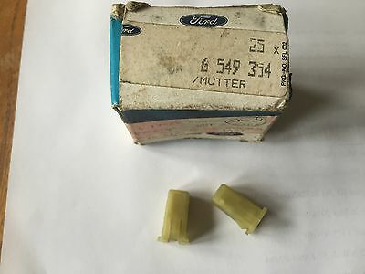 Ford Sierra Rs Cosworth Rs Turbo Screenwasher Bottle Expansion Nuts Genuine
