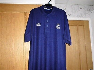Worn Once Official Euro 96 Polo Shirt By Umbro  Size L