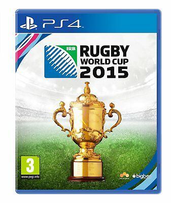 Rugby World Cup 2015 Sony PS4 Playstation 4 BRAND NEW & SEALED FREE UK DELIVERY