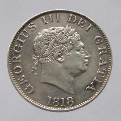 George III, halfcrown, 1818, VF