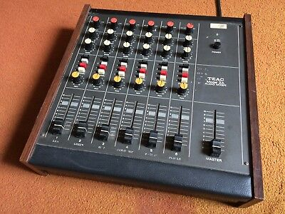 TEAC 2a Audio mixer For A-3440 Tape Machine  - Mixing Desk Reel To Reel Analogue
