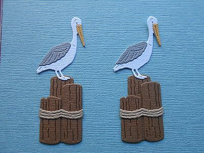 Die cuts - Pelicans, Sea birds, Embellishments