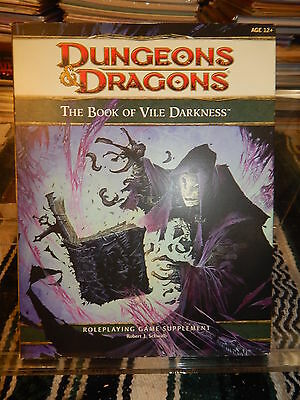 Dungeons & Dragons Book of Vile Darkness 4E supplement