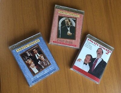 FAWLTY TOWERS 1 2 and 3 Audio Book Six Cassettes BBC Radio Collection