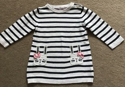 Baby Girl Jumper Dress Size 9-12 Months