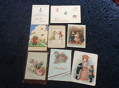 Lot Of 34 Greeting Postcards, Some Unusual Ones In There.