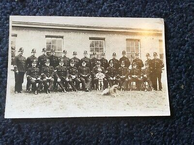 Rppc, Very Early Card Of A Police Regiment Possibly Yorks.